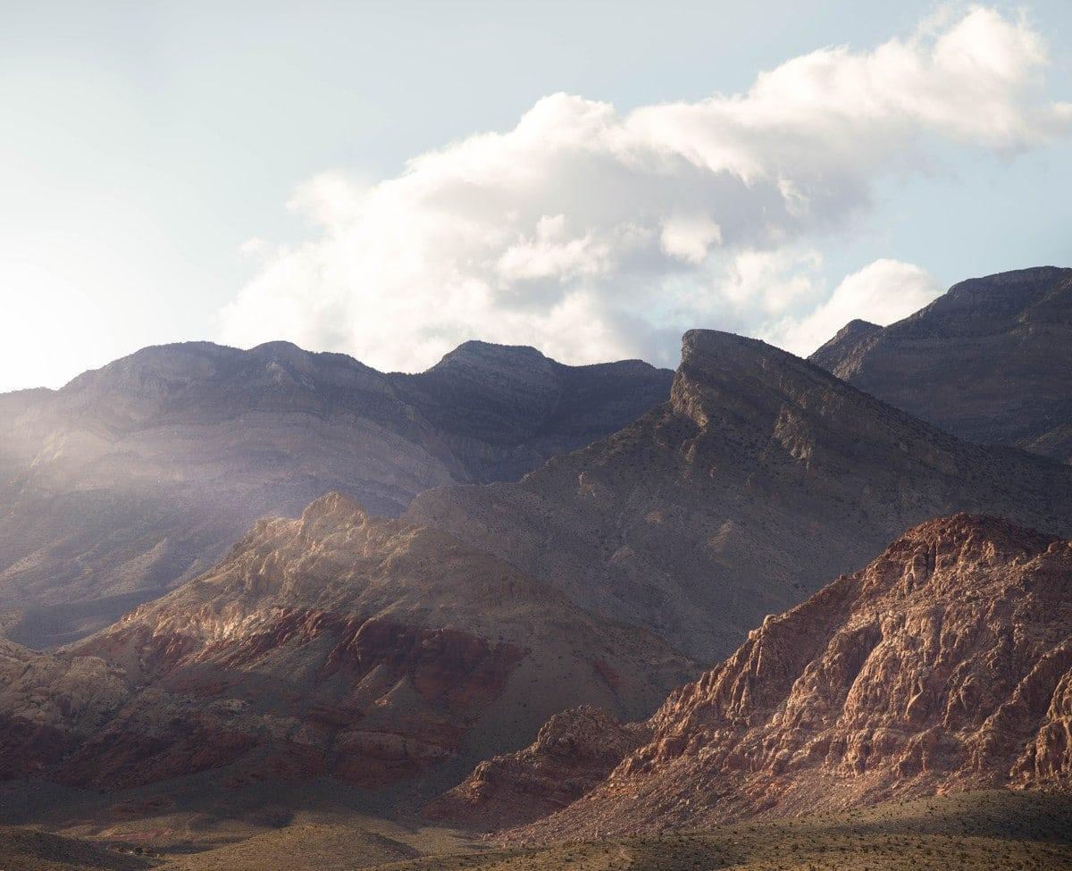 Calico Basin rock climbing