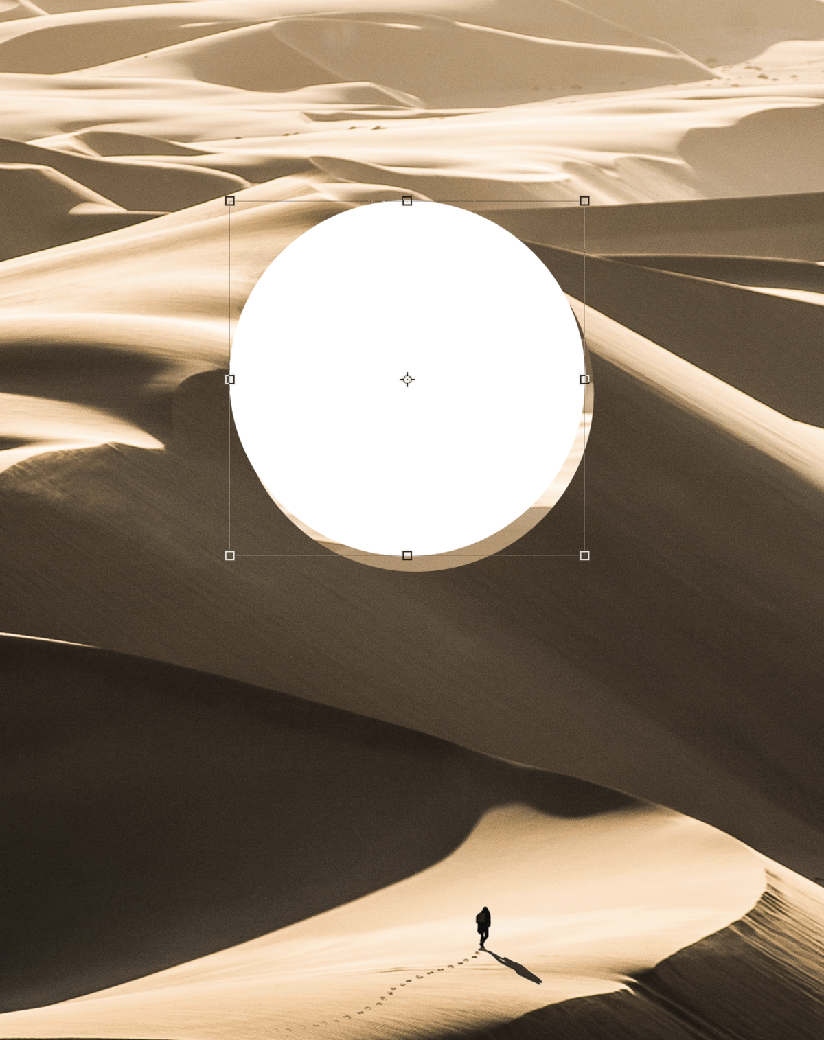 lens ball effect photoshop