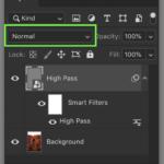 High Pass Filter blend mode In Photoshop