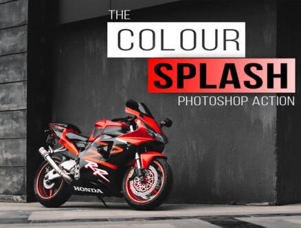 color splash photoshop action