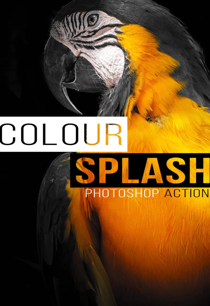 colour splash photoshop action