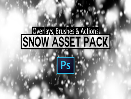snow asset pack for photoshop
