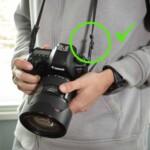 best way to tie a camera strap