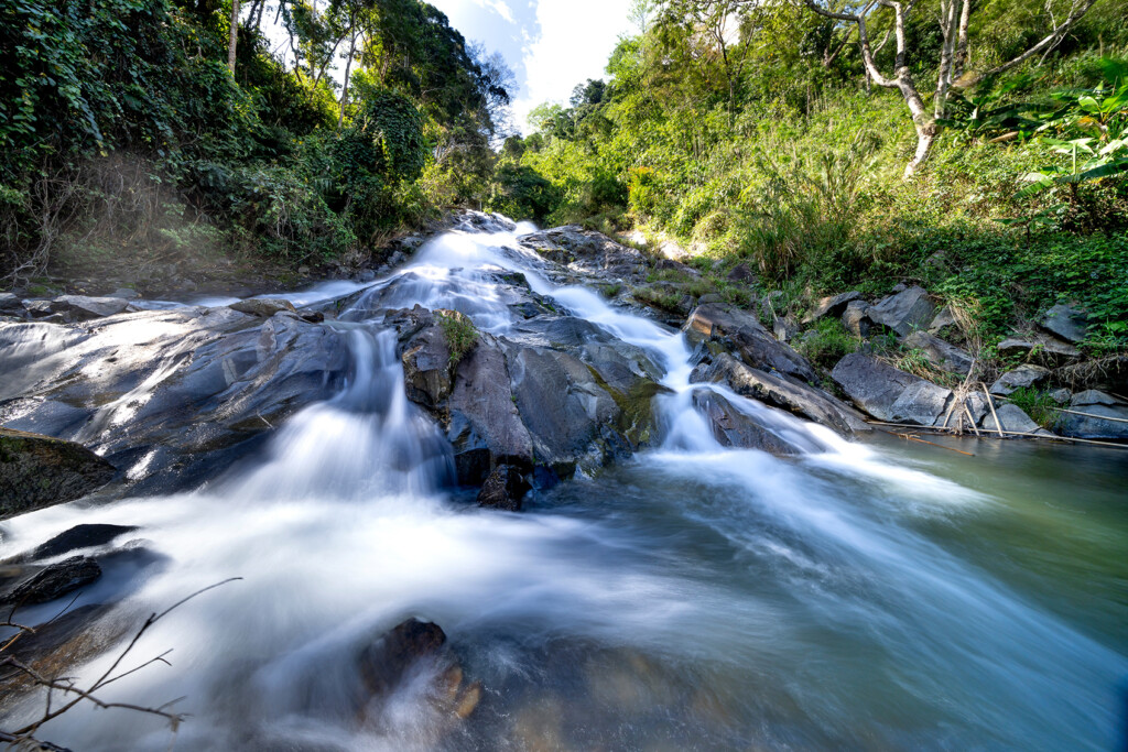 slow shutter speed for long exposure photography