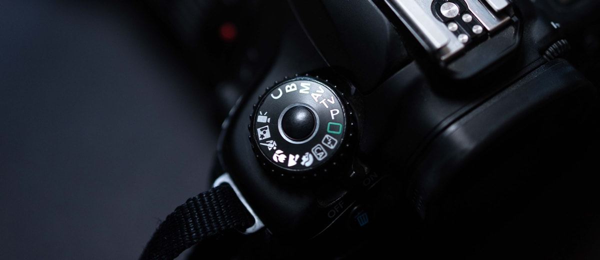 camera mode dial on canon camera