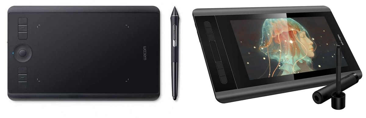 different types of editing tablets for photographers