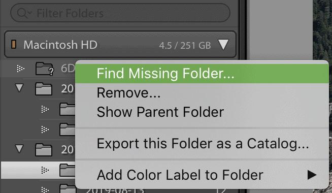 find-missing-lightroom-folder
