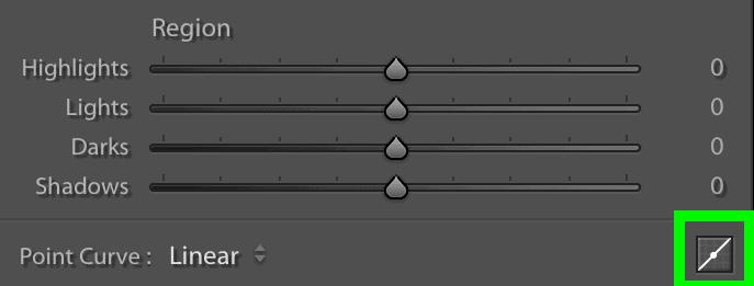 tone curve button switch