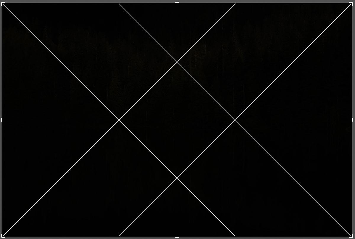 Diagonal-overlay