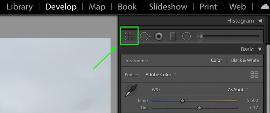crop-tool-icon-in-lightroom