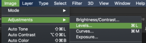 levels-adjustment-in-photoshop