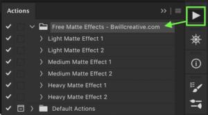 matte-effect-photoshop-action