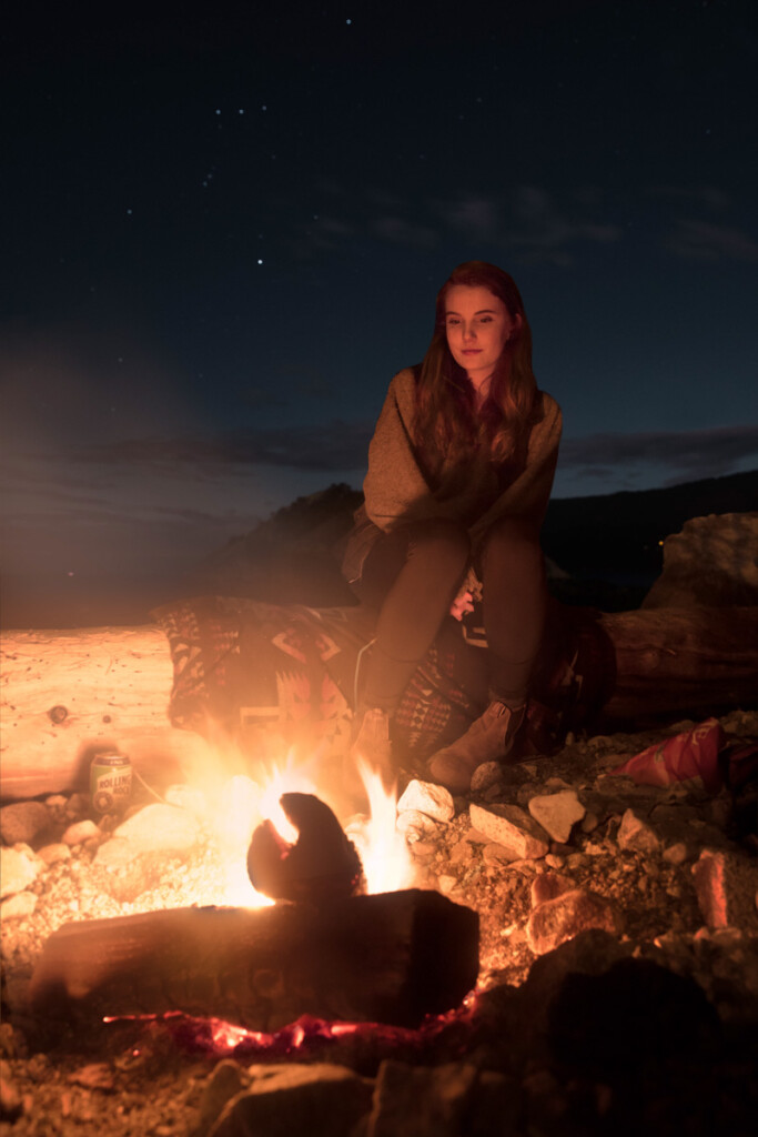 Campfire-At-Blue-Hour