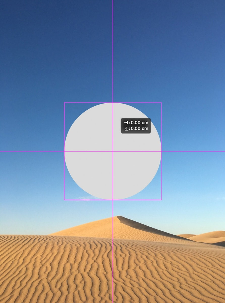 center-layer-with-snap-guides-photoshop