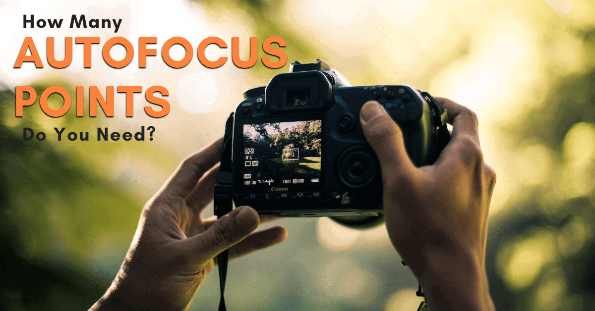 How Many Autofocus Points Do You Need On A Camera?