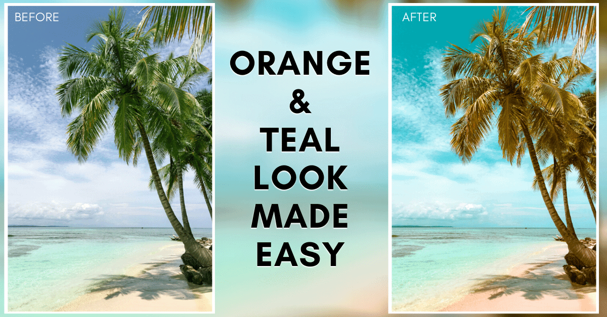 How To Get The Orange And Teal Look In Lightroom Mobile