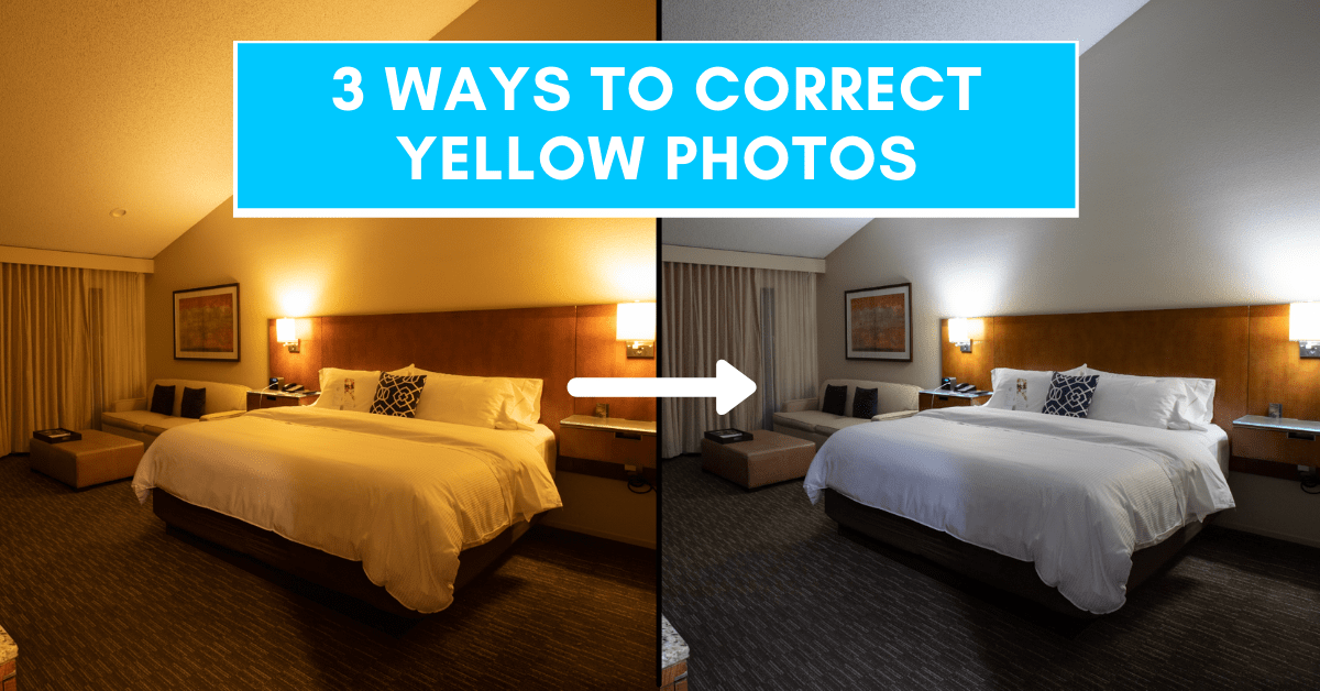 How To Fix Yellow Photos In Lightroom – Correcting Color Cast