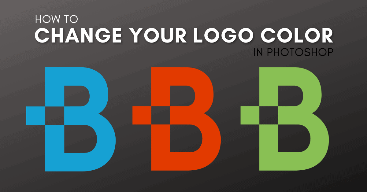 How To Change The Color Of Your Logo In Photoshop (2 Best Ways)