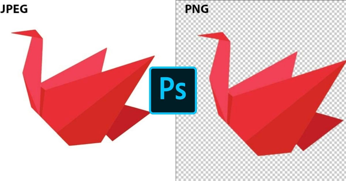 How To Convert A JPEG To PNG In Photoshop (With Transparency!)