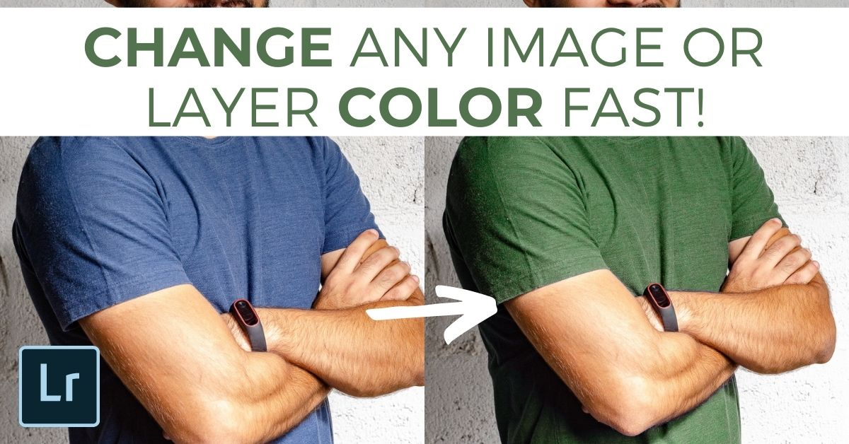 How To Change The Color Of Any Layer In Photoshop